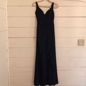 "BCBG Black ""keana"" gown"